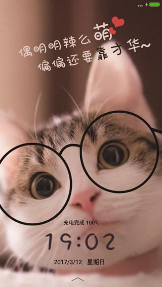 猫星人猫咪唯美简约
