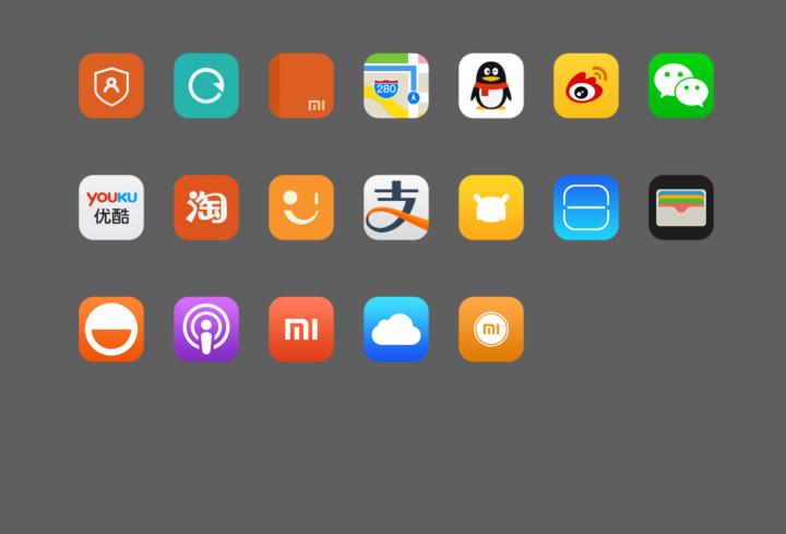 iOS Fuji-小米主题商店